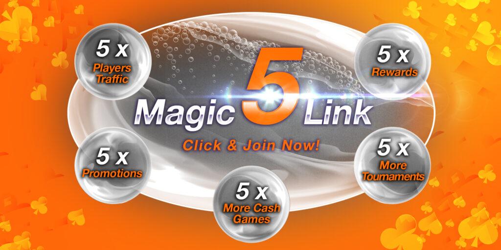 Magic 5 Link grafika sarga