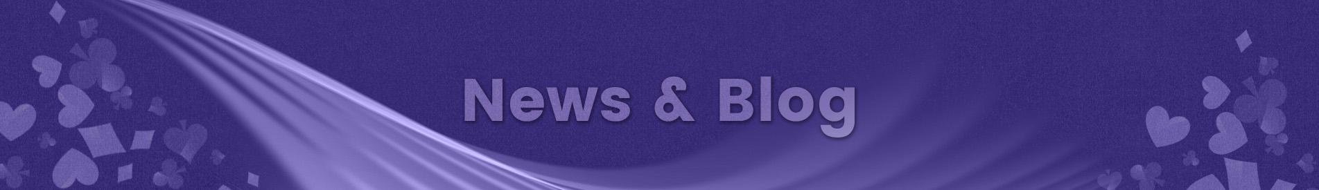 News and Blog fejlec grafika